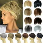 Topper Hairpiece with Bangs Top Hair as Human Hair Extension For Women NEW COLOR