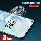 3pcs Hydrogel Film Screen Protector For Oneplus 7 7T 6 Pro 8 Pro protective film