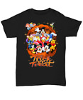 Mickey mouse Trick or Treat Pumpkin Halloween Thanksgiving T-shirt Black S-5XL