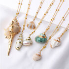 Hot Sea Beach Shell Pendant Necklace Bohemia Ocean Cowrie For Women Jewelry
