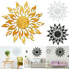 Sunflwer Mirror Wall Stickers Reflective Sticker Home Decoration Wall Sticker Au