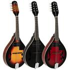 New 3 Colors Right Handed  A Style 8-String Acoustic Electric Mandolin w/ Bag
