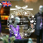 Merry Christmas Vinyl Art Home Window Store Wall Stickers Decal Decor Xmas Decal