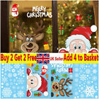 Christmas Wall Stickers Wall Window Glass Home Decoration Sticker Xmas Decals
