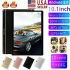 10.1 Inch HD Game Tablet Computer PC GPS Wifi Dual Camera Android 8.0 USA