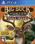 Big Buck Hunter Arcade Sony PlayStation 4 PS4 2016 New Factory Sealed