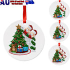 2020 Snow Family Santa Christmas Home Party Hanging Ornament Decorations Gifts