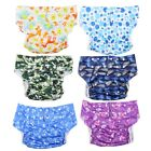 Adult Elderly Adjustable Cloth Diaper Nappy Reusable Washable Incontinence Aid