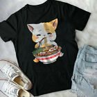 Kawaii Neko Ramen Cute Ramen Cat Japanese Noodle Funny Anime T-Shirt