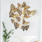 12pcs Butterfly 3d Wall Stickers Decors Wall Art Wall Home Decorations Ornament