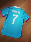 Juventus Player Version Training Soccer Jersey #7 Ronaldo Size for Men