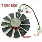 ⭐ASUS Fan 87 mm T129215SU GTX1050TI GTX1060 GTX1070 RX480 Graphic Card Cooling