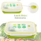For Adults And Kids Bento Green Lunch Box With Spoon+bowl Microwave,freezer Safe