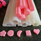 DIY Hand Soap Mold Silicone Tube Column Mould for Homemade Craft Soap Mould ;CC