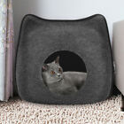 New Cat Bed Cave Small Wool Cozy Pet Igloo Bed Winter House Nest Kennel UK F5P5