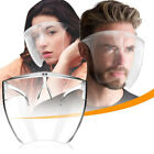 Clear Face Shield Face Mask Transparent Reusable Glasses Visor Anti-Fog US Full