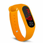 Electronic watch children boys and girls sports couple gift silicone