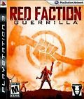 Red Faction: Guerrilla (Sony PlayStation 3, 2009) Ps3 COMPLETE FREE S/H