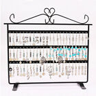 72 Holes Earring Jewelry Necklace Display Rack Metal Stand Holder Organiz