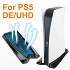 For Playstation 5 PS5 DE/UHD  Console Vertical Stand Dock Mount Cradle Holder US