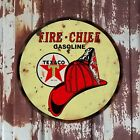 Texaco, Fire Chief, Classic, Vintage, Gas, Garage Man Cave Sign, 4 ft banner