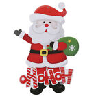 Father Christmas Festival Window Wall Sticker Decal Home Decor Jd