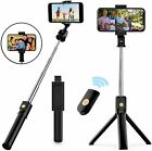 Extendable Selfie Stick Tripod Desktop Stand Desk Holder Remote For Cell Phone