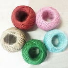 30M Jute Twine Wedding Decor Twisted Rope String Events Party Supplies Utility
