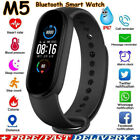 M5 Smart Watch Band Heart Rate Blood Pressure Monitor Tracker Fitness Wristbands