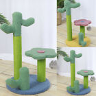 Cactus Interactive Ball Cat Tree Cat Scratching Post Toy for Cats and Kittens