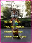 Fox Mascot Costume Cosplay Party Game Dress Outfit Advertising Christmas Adult @