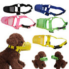 Adjustable Dog Puppy Mesh Breathable Safety Muzzle Biting Barking Chewing