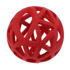 Lattice ball solid rubber flexible dog toy ball chew toy rubber ball for dog cat