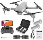 4DRC F3 GPS Drone 4K FPV Camera Foldable Drone RC Waypoints Follow 2Battery+Pack