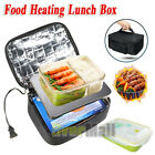Portable Electric Heated Heating Lunch Box Office Mini Microwave Oven Lunch Bag
