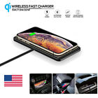 Wireless Charger Car Holder Non-Slip Pad Mat Charging For Cell Phone Android iOS