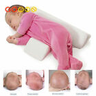 Newborn Baby Side Sleep Pilow Soft Velvet Memory Foam Pillow Anti-Roll Pillow