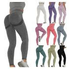 Women's High Waist Vital Seamless Gym Leggings Shark Fitness Sports Yoga Pants