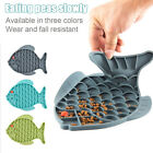 Anxiety Relief Cat Dispensing Mat Feeding Lick Pad Slow Feeder Dog Bowls Hot~