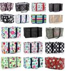 Thirty One Medium  Large Utility tote Beach Picnic Laundry Basket Bag 31 Gift