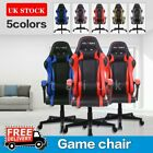 Racing Gaming Chair Game Computer Office Leather Swivel Recliner Executive