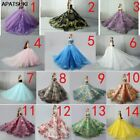 """Limited Handmade Wedding Dress For 11.5"""" Doll Outfits Princess Evening Party 1/6"""
