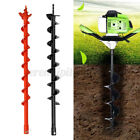 Earth Auger Drill Bit Fence Borer Garden Petrol Post Hole Digger 60/80mm