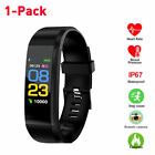 Smart Bluetooth Watches Health Wristband Fitness Tracker Heart Rate Pedometer A+