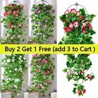 Artificial Flower Morning Glory Vine Trailing Hanging Home Outdoor 100cm Decor