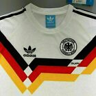 West Germany Retro Shirt Home 1990 World Cup Classic Vintage Sizes UK SELLERNational Teams - 112979