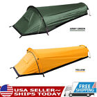 Outdoor Camping Sleeping Bag Tent Portable Backpacking Travel Tent & Sack O2M8