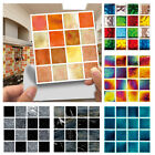 30x Kitchen Tile Stickers Bathroom Mosaic Sticker Self-adhesive Wall/home/decor