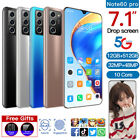 1set Note60 PRO 7.1'' Smartphone Android 12G 512G Dual SIM Facial Phone