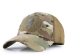 Punisher Hat Skull Camo Fitted Marvel Cap Snapback Multicam Operator Army Cod